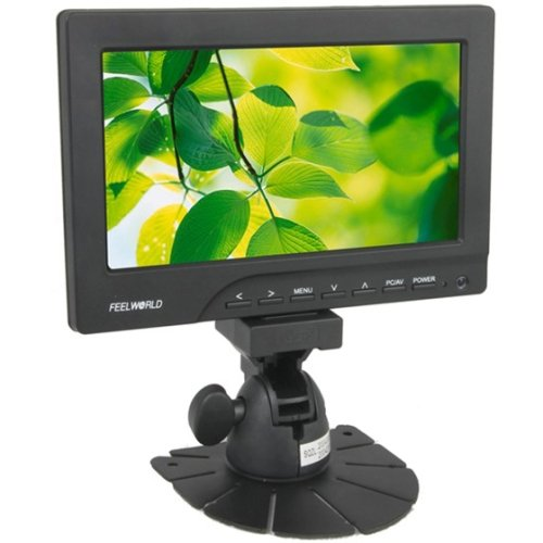 Feelworld Professional 7 Inch 800 X 480 Pixels Touch Screen Camera Monitor (Fw669Aht)