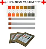 10 x pH Health Test Strips - 4.5-8.0 pH
