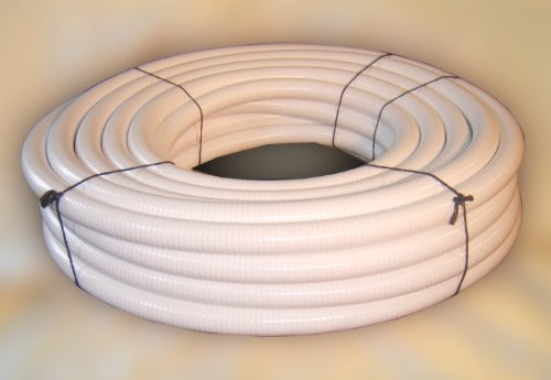 Good HydroMaxx 100 Foot X 2 Inch White Flexible Flex PVC Pipe Hose Tubing For  Pools Spas And Water Gardens