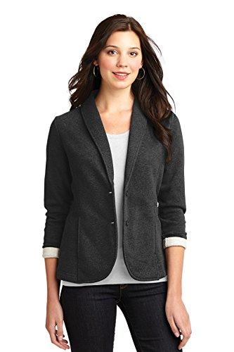 port-authority-womens-fleece-blazer-m-dark-charcoal-heather