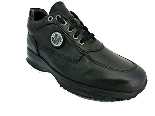 Scarpe sneaker uomo Exton made in italy ak24 Nero (43)