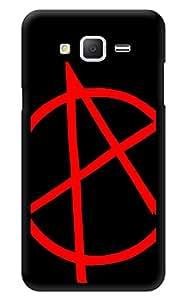 "Humor Gang V For Vendetta Symbol Printed Designer Mobile Back Cover For ""Samsung Galaxy j2"" (3D, Glossy, Premium Quality Snap On Case)"