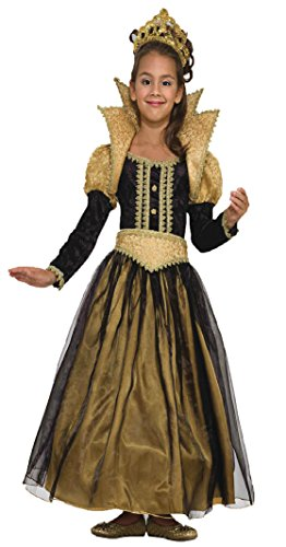 Girls Renaissance Princess Kids Child Fancy Dress Party Halloween Costume