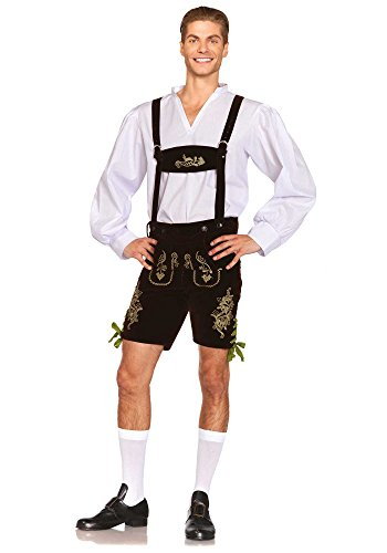 85476 - Oktoberfest Lederhosen Kostüm, Größe Large