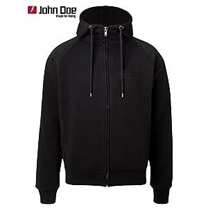 JOHN DOE Kamikaze Defense Kevlar Hoody schwarz von John Doe