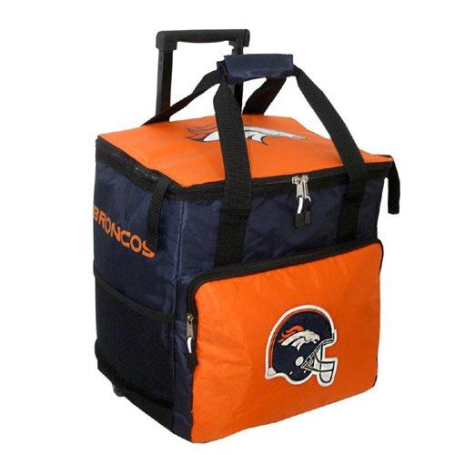 Denver Broncos Nfl 36 Can Rolling Cooler