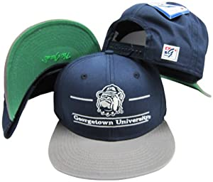 Buy Georgetown Hoyas Classic Split Bar Snapback Adjustable Snap Back Hat Cap by The Game