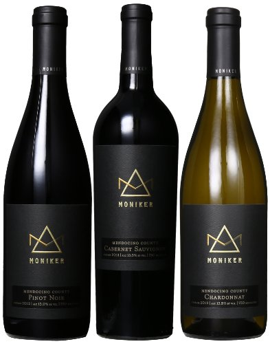 Moniker Estates Premiere Mixed Pack, 3 X 750 Ml
