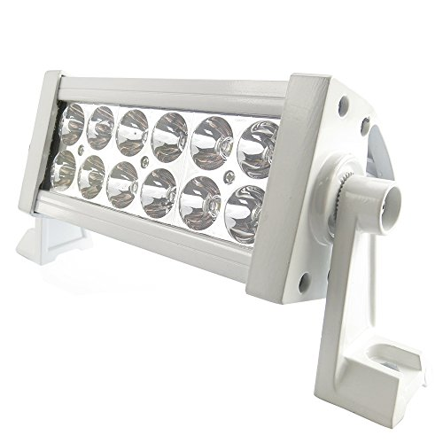 """Hot Sale 7"""" Off Road Led Work Light Bar Spot Beam-3W Led-36W-3000 Lumen Great For Jeep Cabin/Boat/Suv/Truck/Car/Atv,White Color"""