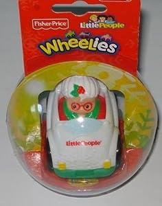 Fisher Price Little People Wheelies - Mrs Santa Claus (Toy)