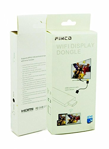 Buy Cheap FINCO(TM) Support IOS 9.1 Full Hd 1080p Wireless Hdmi Adapter / Miracast Dongle Display Fu...