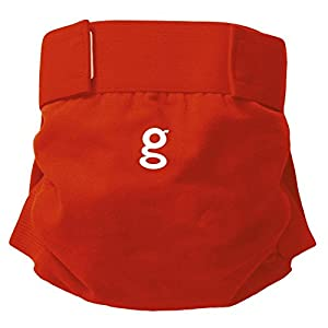 Gnappies Little Gpant Good Fortune Red, Medium Reuseable Nappies