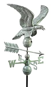 Good Directions 955V1 Smithsonian Eagle Weathervane, Blue Verde Copper by Good Directions
