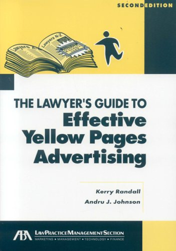 The Lawyer'S Guide To Effective Yellow Pages Advertising front-14442