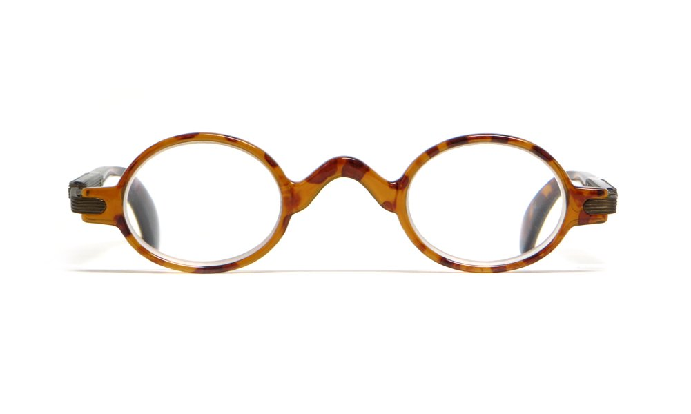 Calabria R314 Vintage Professor Oval Reading Glasses Incredibly Lightweight 1