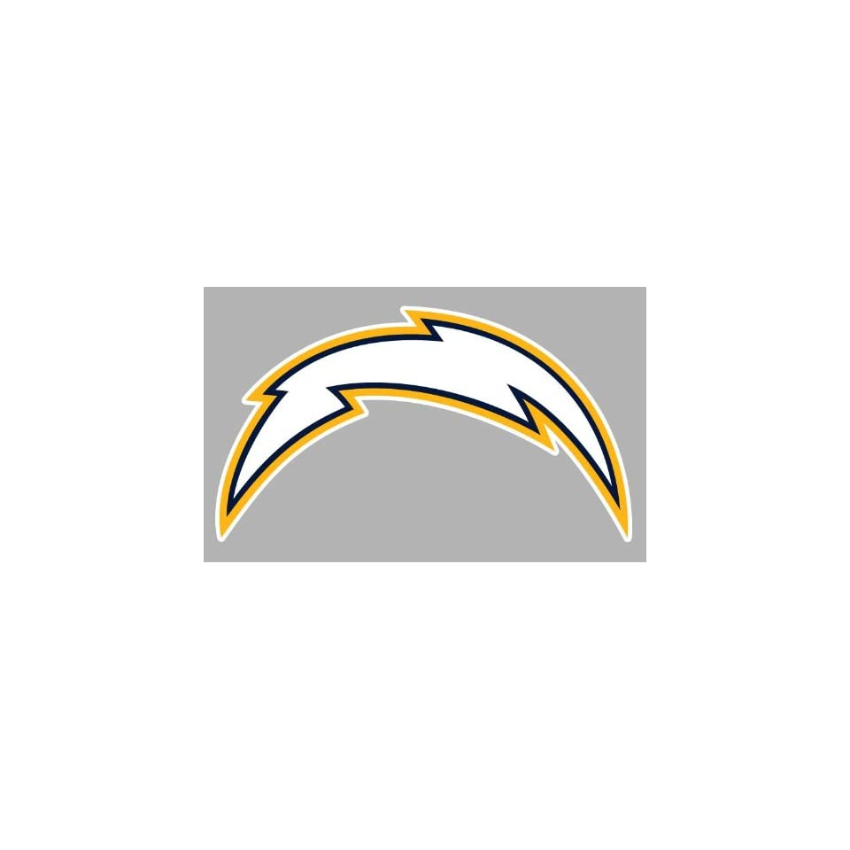 San Diego Chargers Car Decals: San Diego Chargers Auto Car Bumper Decal Sticker 7.5 X 4