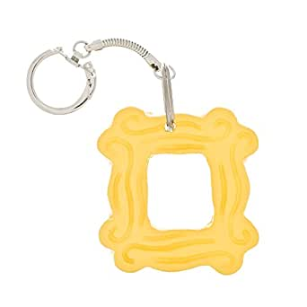 Amazon.com: Yellow Peephole Frame Keychain inspired by Friends