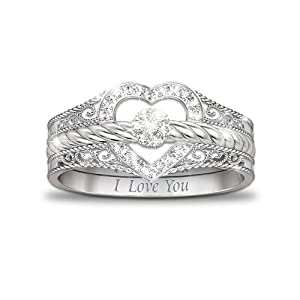 Stackable Heart Ring Bradford