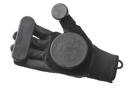 Triple 8 Sliders Longboard Gloves (Black, Small/Medium)