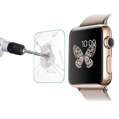 SDO Exclusive 9H Hardness Abression Proof Tempered Glass for Apple Watch 42 mm