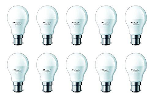 7W LED Bulbs (Cool White, Pack of 10)