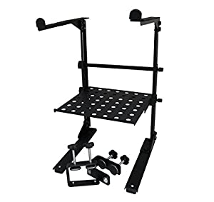 Blast King 77BLPS 5COMBO Laptop Stand with Tray and Table Clamps