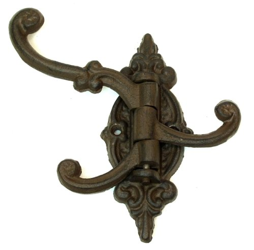 1 X IWGAC 0170S-01758 Cast Iron Swivel 3-Hook Single 0