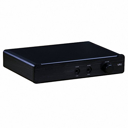 Smsl Vmv Va-1 Hd Desktop Headphone Amplifier Amp For Sennheiser Hd650 Hd600 Black