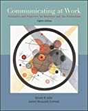 Communicating at Work: WITH Student CD-ROM and OLC Bind-in Card (0071112243) by Adler, Ronald B.