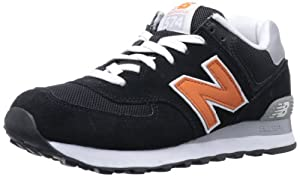 New Balance ML574 - Zapatillas deportivas unisex, talla 42, color negro