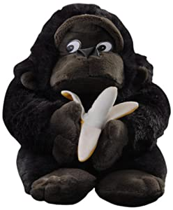Play n Pets PNP-3118 Gorilla with Banana (Small)