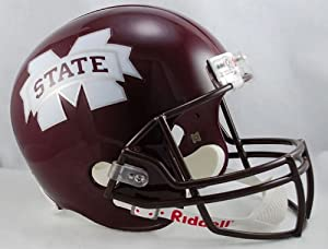 Mississippi State Bulldogs Riddell Full Size Deluxe Replica Football Helmet - College... by Riddell