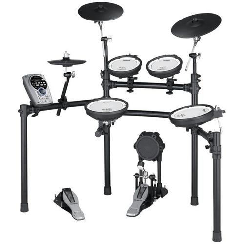 Roland TD-15K-S V-Compact Series Electronic V-Drum Kit