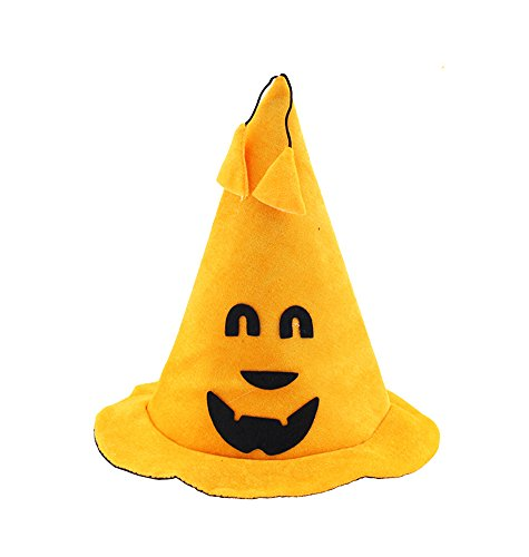 Keral Halloween Supplies Performance Prop Smiley Pumpkin Hat