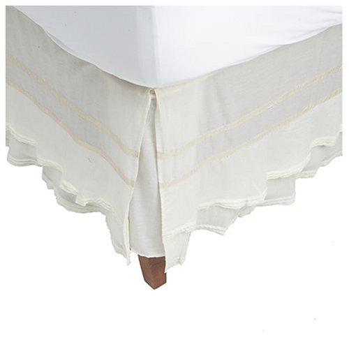 bedskirts queen on Dkny  Pure Rustic  Petticoat Bedskirt  Queen