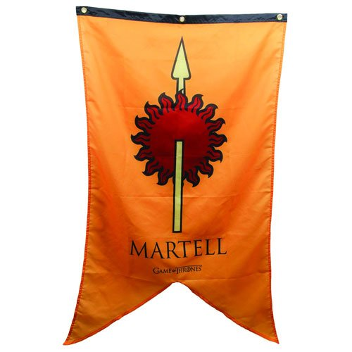1 X Game of Thrones Martell Banner - 1