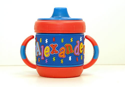 Personalized Sippy Cup: Alexander front-285648