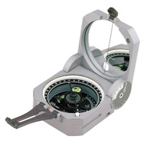 Brunton Geo Pocket Transit Compass with 0-360 Degree Scale