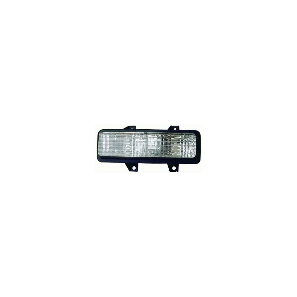 CHEVY / GMC BLAZER/JIMMY/SUBURBAN/RV89 91/VAN 92 96 Parking Corner Light Passenger Side DUAL HeadLight
