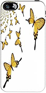 Snoogg Kaleidoscopic Butterflies Designer Case Cover For Apple Iphone 5 / 5S