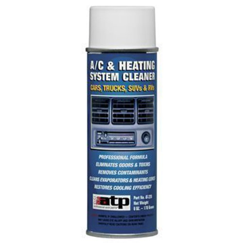 ATP AT-220 Air Conditioning and Heater Core Cleaner Aerosol - 6 oz.