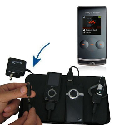 Unique Gomadic 4-Port Charging Station for the Sony Ericsson W980 - Charge four devices with TipExchange Technology