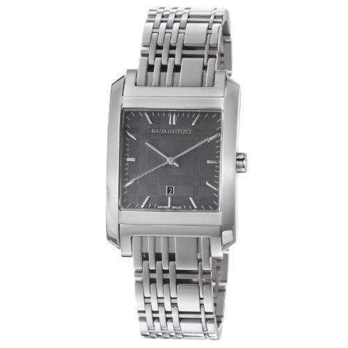 Burberry Men's BU1568 Square Stainless Steel Bracelet Watch