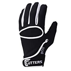 Buy Cutters Youth C-TACK Fielders Under Glove - Black by Cutters