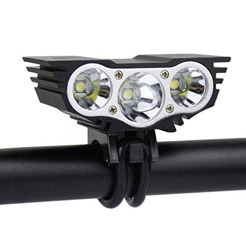 super bright rechargeable bike light nestling powerful bicycle headlight tail light included. Black Bedroom Furniture Sets. Home Design Ideas