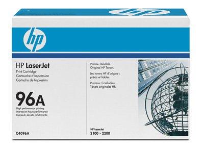 Hewlett packard toner pour hP laserjet 2200 (c4096A) cartouche de toner d'origine noir