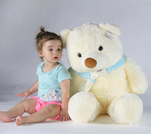 Joyfay-Giant-39-White-Teddy-Bear