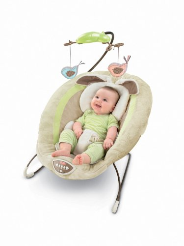 Fisher-Price Deluxe Bouncer, My Little Snugabunny Image