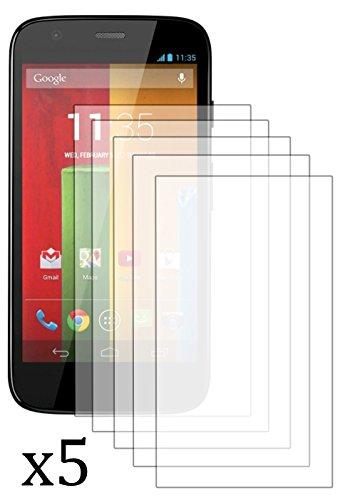 Bastex Antiglare Lcd 5 Piece Matte Protection Screen For Motorola Moto G Xt1032