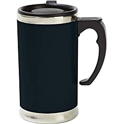 Wyndham House 21oz Stainless Steel Lined Double-wall Travel French Press Coffee/tea Mug- Wall Travel Mug by Wyndham